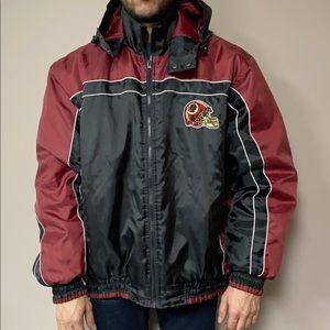 Official NFL Washington Redskins Rain Jacket